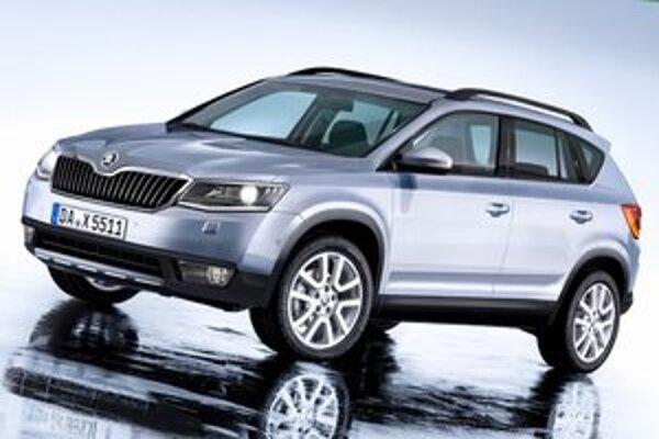 Snowman bude využívať podvozkové skupiny nového modelu VW Tiguan a na trh by mal prísť v roku 2016.