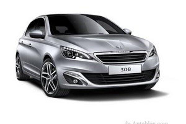 Nový Peugeot 308. Nová tristoosmička bude mať svetovú premiéru na jesennom autosalóne vo Frankfurte.
