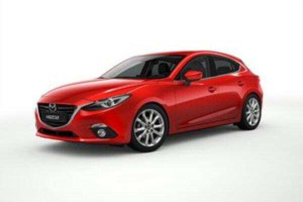 Nová Mazda3. V porovnaní s doterajším modelom sa zväčšil rázvor, celková dĺžka ostala nezmenená.
