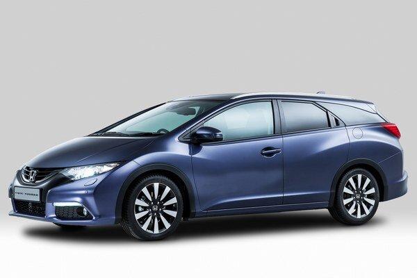 Nová Honda Civic Tourer. Deviata generácia radu Civic bude opäť zahrnovať kombi verziu, ktorá bude mať premiéru vo Frankfurte.