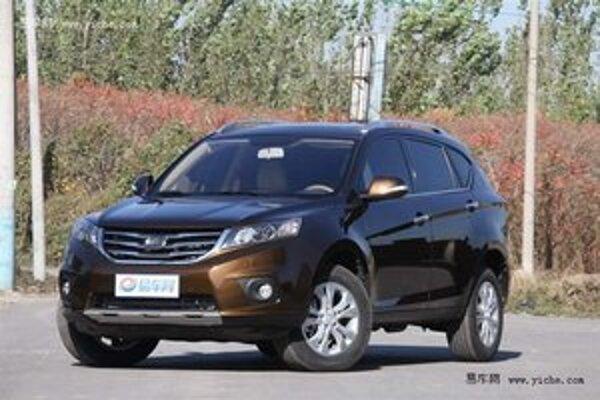 "Športovo-úžitkový Landwind X5. Automobilku BMW vôbec neteší to, že si čínska firma Landwind od nej ""požičala"" označenie X5."