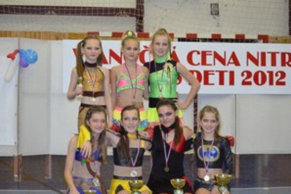 Dievčatá z Fitness Free Prievidza majú za sebou ďalšie úspešné vystúpenia.