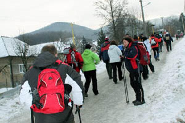Pochod vďaky SNP je jedným z najstarších a najväčších zimných turistických podujatí na Slovensku