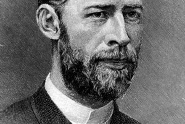 Heinrich Rudolf Hertz. Ako prvý experimentálne preukázal existenciu elektromagnetických vĺn.