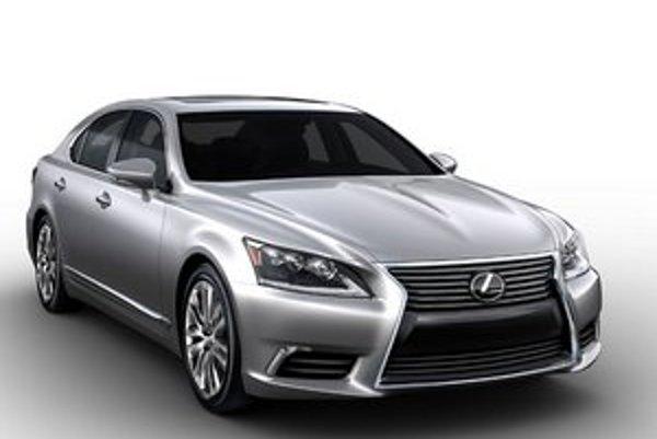 Nový Lexus LS. Model LS je vlajkovou loďou spoločnosti Lexus.