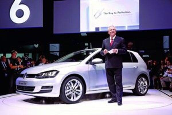Golf siedmej generácie. Podtext. V Berlíne ho predstavil šéf koncernu VW profesor Martin Winterkorn.