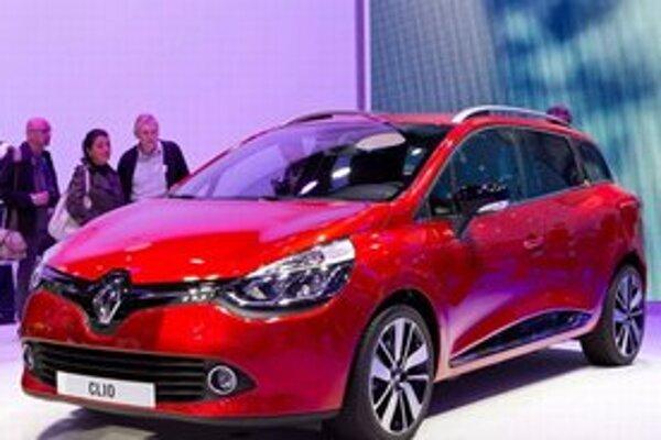 Kombi Renault Clio Grandtour. Kombi Grandtour má v Paríži svetovú premiéru spolu so základným modelom Clio.