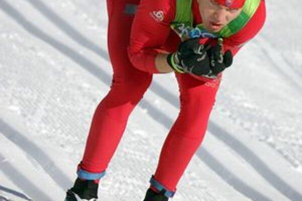 Peter Mlynár. Tour de Ski bola preňho obrovskou skúsenosťou.