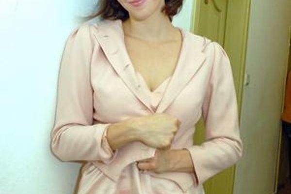 Herečka Ivana Kuxová.