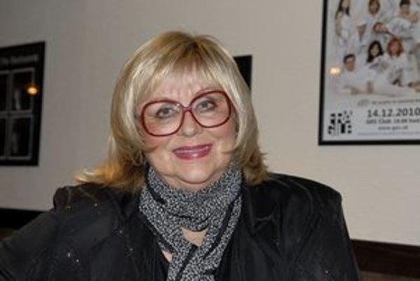 N. Urbánková má pozitívny prístup k životu.