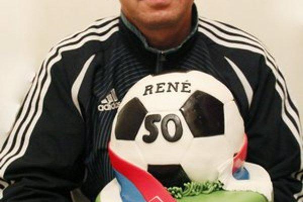 René Babušík tohto roku oslávil päťdesiatku.