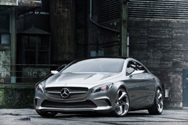 Svetovú premiéru má najnovšia štúdia firmy Mercedes na autosalóne v Pekingu