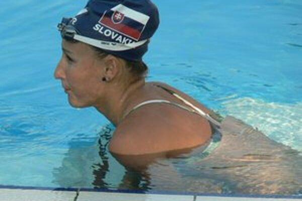 Zuzana Mimovičová. Jej šanca na štart na OH ešte  nezhasla.