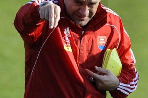 Slovenský tréner Vladimír Weiss.