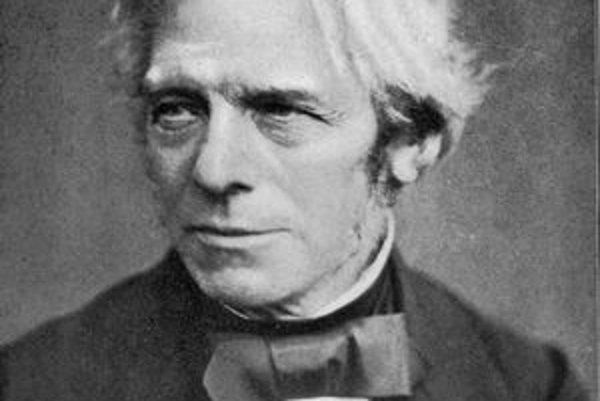 Michael Faraday. Objavil jav elektromagnetickej indukcie.