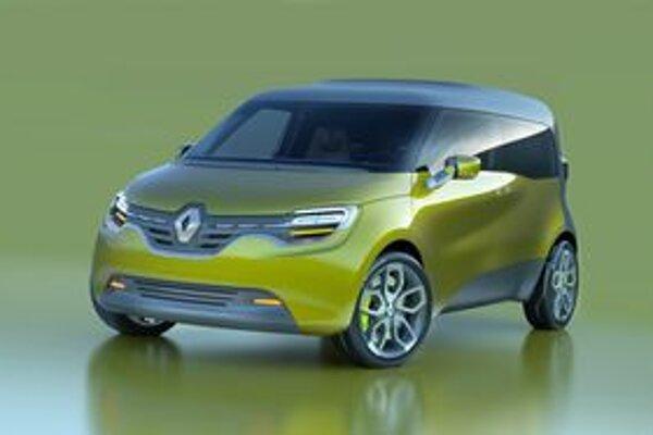 Renault Frendzy je najnovším z radu koncepčných vozidiel firmy Renault.