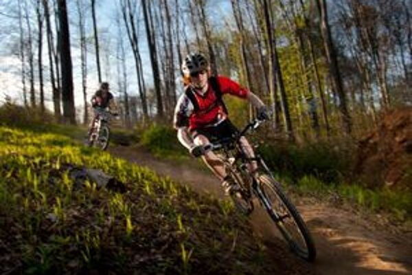 Trasa cez hory a lesy vyžaduje kondičku a odhodlanie.