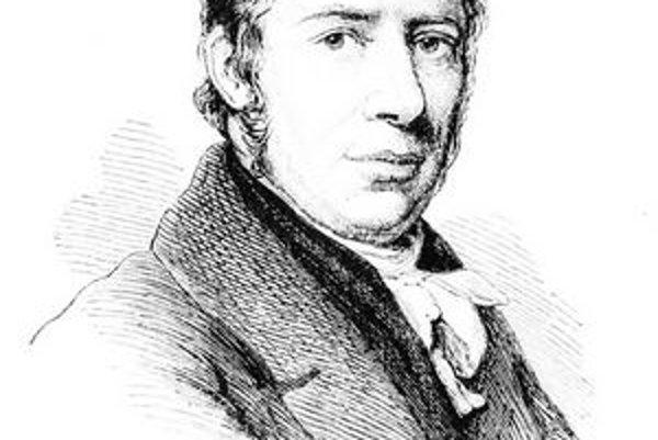 Richard Trevithick. Vyvinul prvú funkčnú lokomotívu.