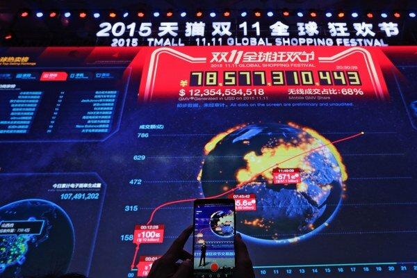 Alibaba už šiesty rok organizuje vždy 11. novembra na svojich platformách nákupný festival 11.11. Shopping Festival, ktorý je označovaný ako Singles' Day, teda Deň slobodných.