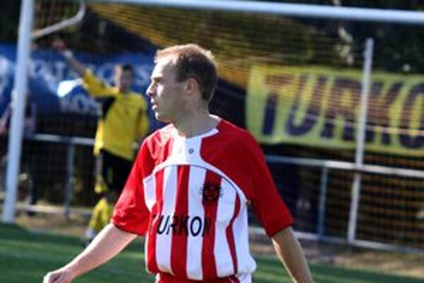 Peter Vilčko v tejto sezóne zaznamenal svoj tretí gól.