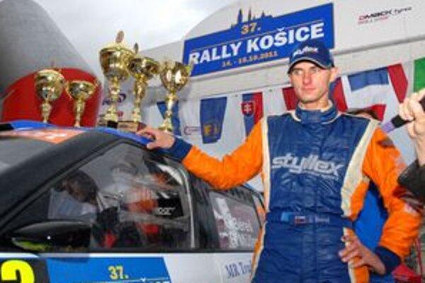 Béreš jr. si udržal víťazstvo a tešil sa z celkového víťazstva a úspešnej obhajoby majstrovského titulu.