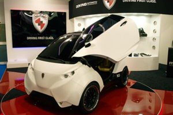 Elektromobil Doking. Doking je prvý chorvátsky elektromobil a mal by sa vyrábať aj s pohonom všetkých kolies.