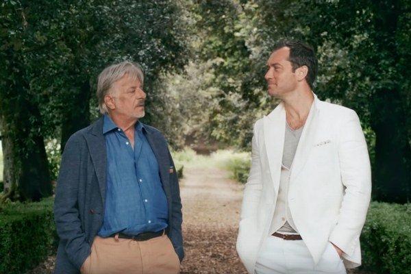 Herci Giancarlo Giannini a Jude Law.