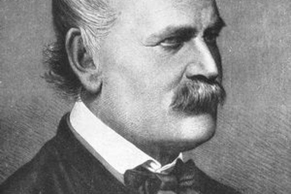 Ignác Semmelweis. Semmelweissovi sa podarilo odhaliť príčinu horúčky šestonedieľok.