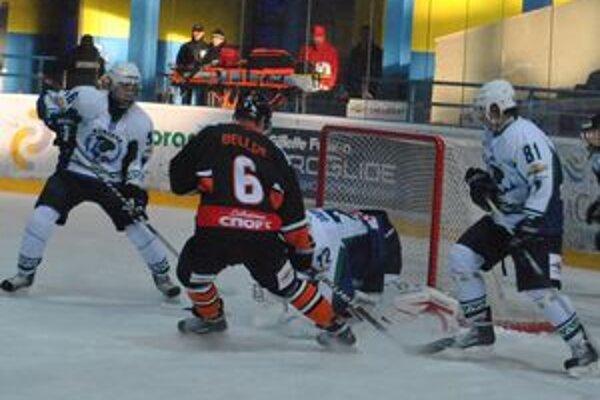 Dôležitý druhý gól v sobotu strelil Spišiak v drese Vlkov Martin Belluš.