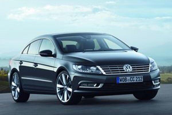 Nové štvordverové kupé Volkswagen CC. Doteraz bol model CC len verziou radu Passat, teraz sa sa stáva samostatným radom.