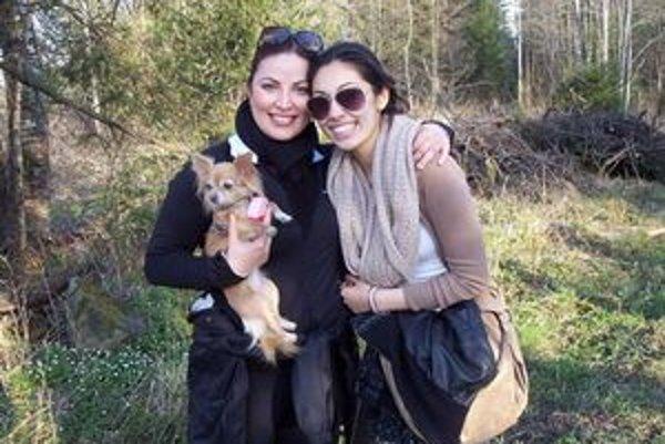 Ivana Christová so svojou dcérou.