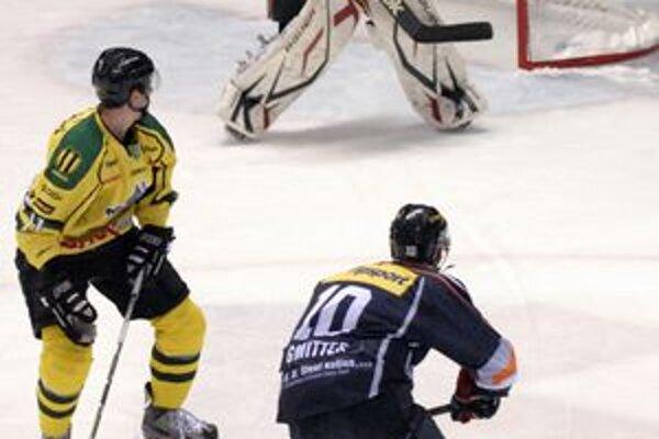 Ondrej Gmitter proti Žiline zaznamenal prvý kanadský bod.