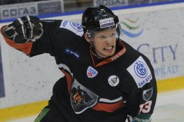 Václav Nedorost stihol streliť za HC Lev 14 gólov.