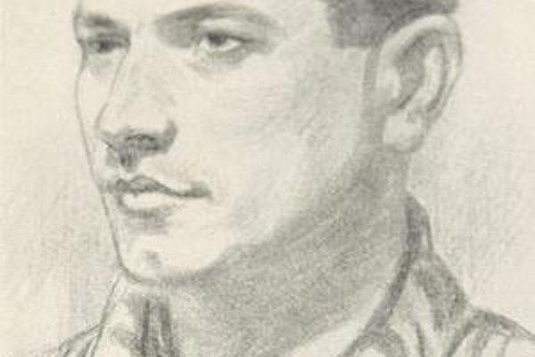 Adolf BurgerTakto ho zachytil jeho spoluväzeň.Foto: archív