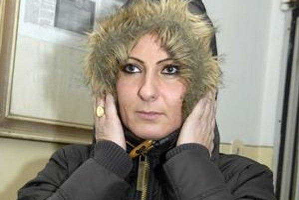 Expriateľka Kamila. Tvrdí, že od októbra doteraz jej Lukáč poslal 1 167 esemesiek, výhražné si vraj policajti zapísali.