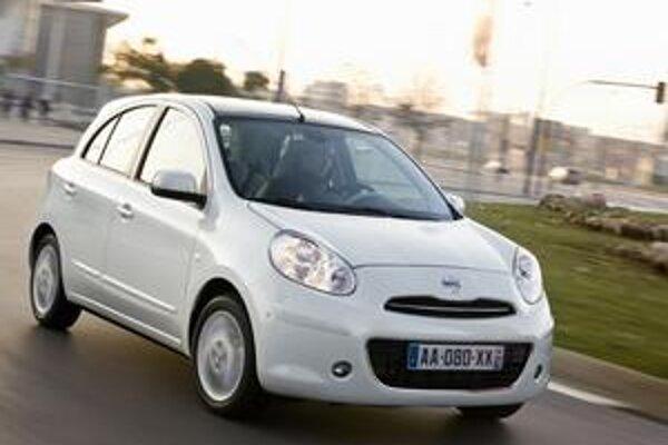 Úsporný Nissan Micra. Do typu Micra sa už montuje aj motor s priamym vstrekovaním benzínu, ktorého spotreba je len 4,1 l/100 km.