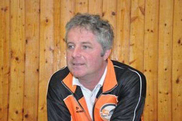 Tréner Pavol Blaško.