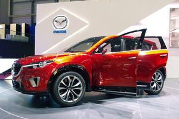 Koncepčná Mazda Minagi je predobrazom nového sériového športovo-úžitkového vozidla.