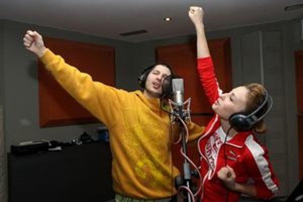 Mária a Opak. Netradičné spojenie prinieslo raperskú pieseň.