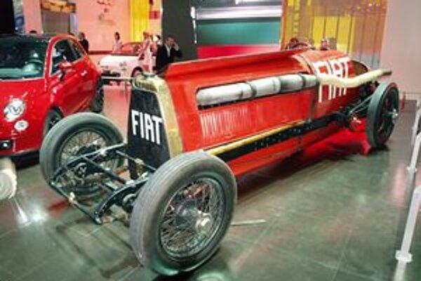 Rekordný Fiat Mefistofele. Mefistofele dosiahol 12. júla 1924 rýchlosť 234,97 km/h, čo bol vtedy svetový rýchlostný rekord.