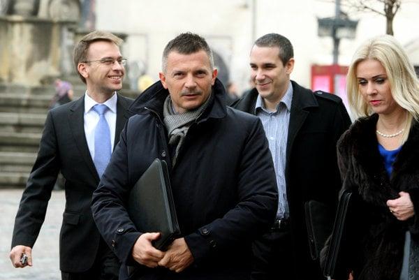 Minister dopravy Ján Počiatek (Smer-SD)