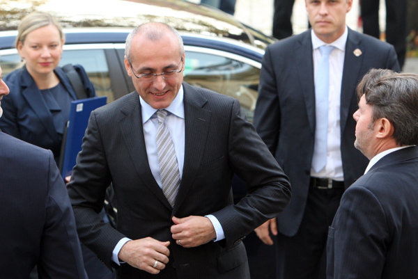 Minister spravodlivosti Tomáš Borec