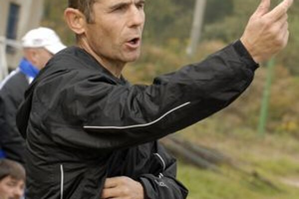 Je optimista. Tréner Moldavy B Tomáš Danko.