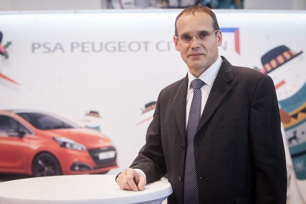 Šéf PSA Peugeot Citroën v Trnave Rémi Girardon.