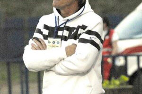 Tréner Karol Kisel pripomína, že v Púchove to bolo prvé víťazstvo vonku.