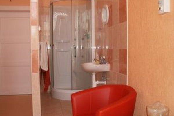 Nadštandard v Prešove. Patrí k nemu aj vlastná sprcha.