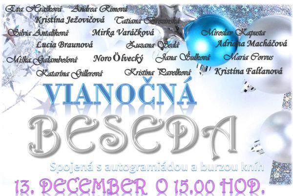 Vianočná beseda bude túto nedeľu v Kaštieli v Nových Sadoch.