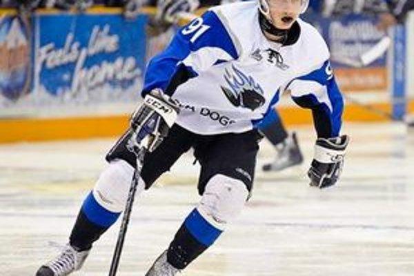 Tomáš Jurčo. Dúfa, že by mohol byť v NHL draftovaný už v prvom kole.