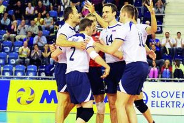 Radosť. Slováci sa môžu tešiť, postúpili na ME 2011.