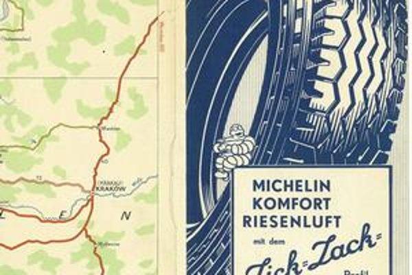 Michelin vyrába nie len pneumatiky. pred sto rokmi prišli bratia Michelinovci s nápadom vydávať špeciálne mapy pre motoristov.